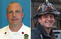 Lieutenant Edward Walsh Jr.(left), and Firefighter Michael R. Kennedy (right)